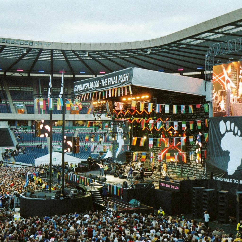 Live 8: Edinburgh 50,000 The Final Push