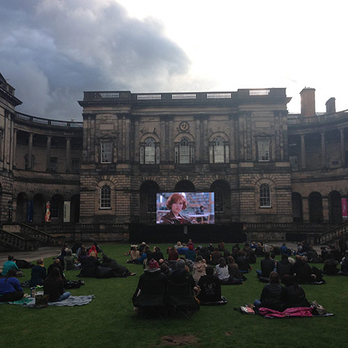 Film in the Old Quad