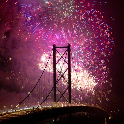 Forth Road Bridge 50th Birthday Celebrations
