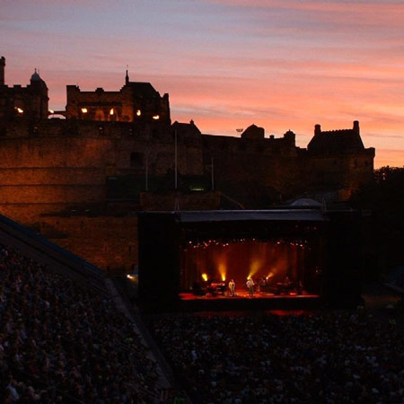 Concerts at Edinburgh Castle