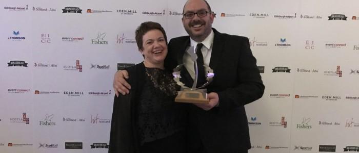 Unique Events Directors, Penny Dougherty and Al Thomson.