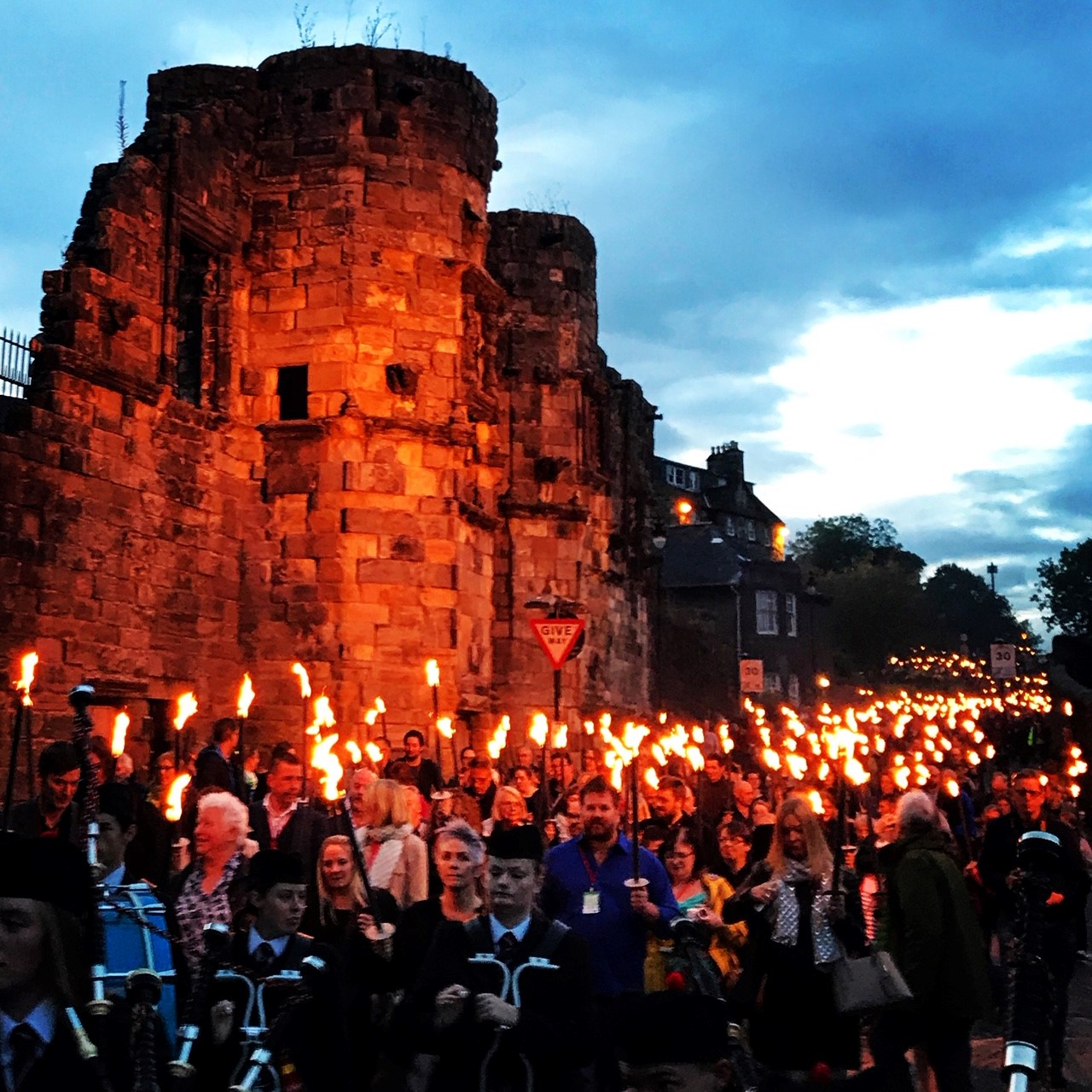 Bloody Scotland - Opening Torchlight Parade