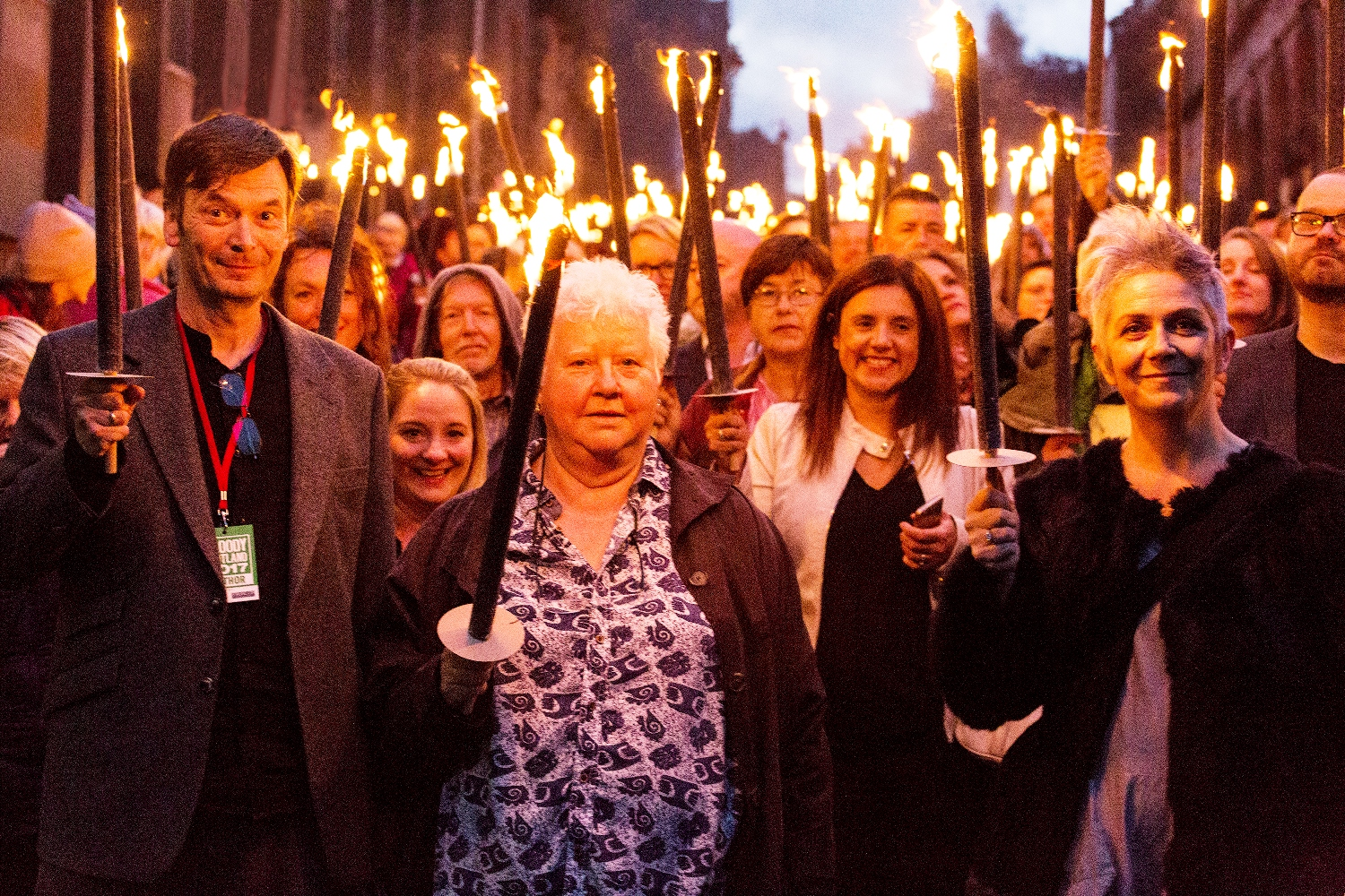 Bloody Scotland - Opening Torchlight Procession