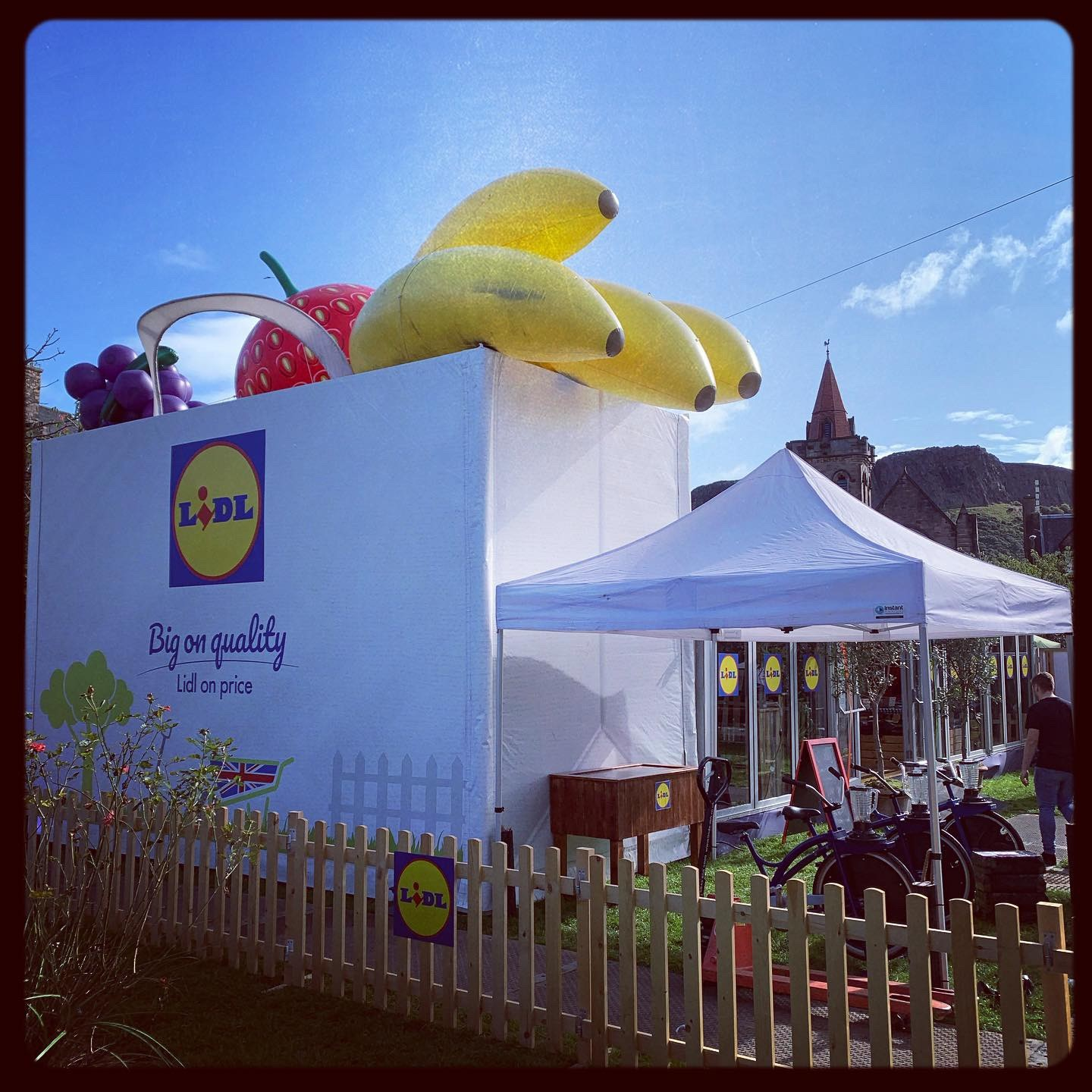 Lidl Gardens at the Fringe